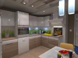 Визуализация кухни в Степном